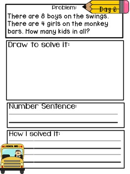 Common Core Problem of the Day - September