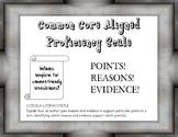 Common Core Proficiency Scale