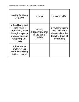Sadlier School - Common Core Progress ELA Grade Unit 3