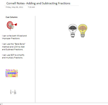 Common Core Project Based Lesson: Egyptian Fractions / Adding Fractions