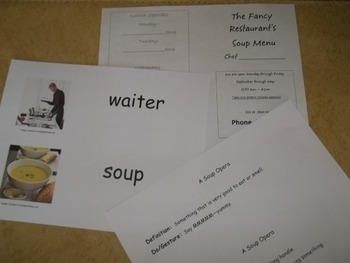 Activities for A Soup Opera Book written by Jim Gill