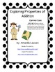 Common Core Properties of Addition Activities and Assessment