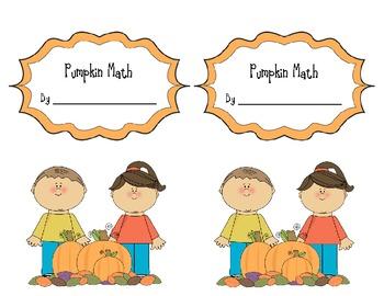 Common Core Pumpkin Math Activites