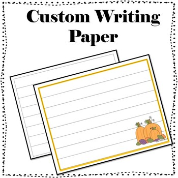 Third, Fourth, and Fifth Grade October Pumpkin Writing Prompts