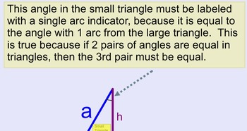 Common Core Pythagorean Theorem Proof Geometry and Algebra in a Power Point File