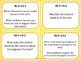 Common Core Question Cards Reading Standards for Informational Text Grades 9-10
