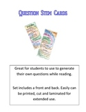 Common Core Question Stem Cards: Reading Informational and