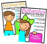 Problem of the Day BUNDLED {Kindergarten Version}