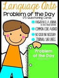 Language Arts Problem of the Day {Kindergarten Version}