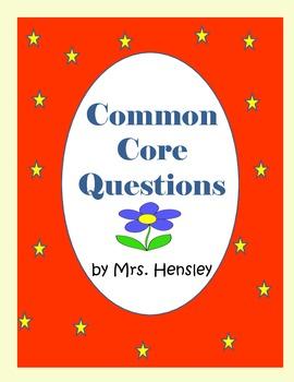 Common Core Questions