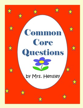 Common Core Questions