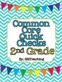 Common Core Quick Checks - 2nd Grade