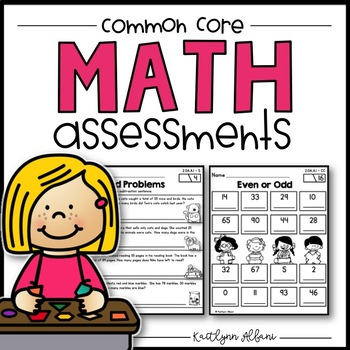 Common Core Quick Math Assessments Operations and Algebrai