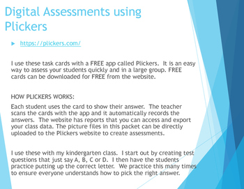 Common Core Quick and Easy Assessments (using Plickers)-recognize numbers 0-20