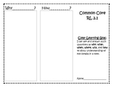 Common Core RL 2.1 Trifold