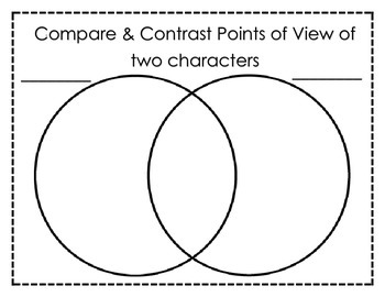 Common Core RL 2.6 Reading Trifold