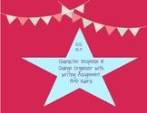 Common Core: RL.3-Character Response/Change Organizer/Writing
