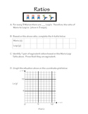 Common Core Ratio Lesson/worksheet/Open Response Question
