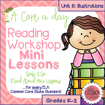 Common Core Reader's Workshop Minilessons - Unit 6: Illustrations