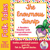 Reader's Theater Folk Tale Enormous Turnip RL1.1, RL2.1, RL2.2  RL3.2, RL3.3