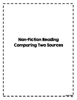 Common Core Reading Activity- Nonfiction