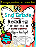 Common Core Reading Assessment 2nd Grade RL.2 Reading Pass