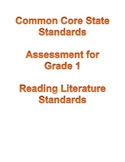 Common Core Reading Assessment First Grade