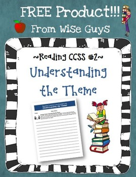 Common Core Reading Theme Activity and Rubric
