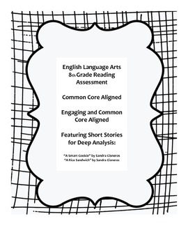 Common Core Reading Assessment for 8th Grade Students