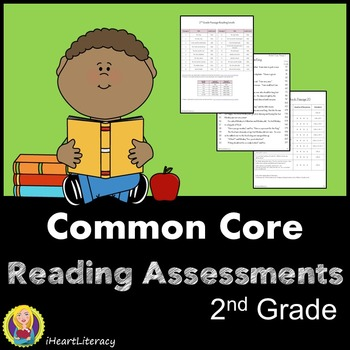 2nd Grade Reading Comprehension Passages Common Core Aligned Tpt