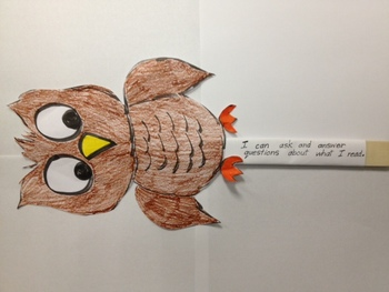 Interactive Puppets: Common Core Reading Comprehension