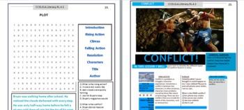Common Core Reading Comprehension RL 1-10 4th Grade Workbook