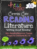 Common Core Reading: Comprehension Strategy Sheets for 3-6 Fiction Standards