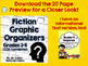 Fiction Comprehension Graphic Organizers - CCSS Literature Standards 3-5