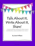 Common Core Reading: Comprehension & Writing Activities for Fictional Stories