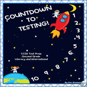 Common Core Reading Countdown to Testing and End of Year