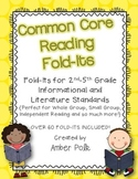 Common Core Reading Fold-Its (2nd-5th Grade Informational