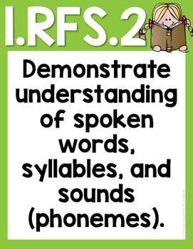 Common Core Reading Foundational Skills 1RFS2a-e