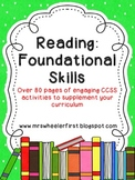 First Grade Phonics: Reading Foundational Skills