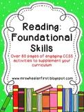 First Grade Phonics: Reading Foundational Skills