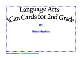 I Can Reading Cards Common Core