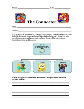 Common Core Reading INFORMATIONAL Response Sheets FIRST GRADE