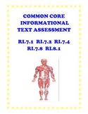 Informational Passage and Assessment: Grade 7-8 (Common Core-Aligned)