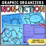 Common Core: Reading Graphic Organizers for Informational Texts Grades 3-5