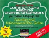 English Reading Lit & Non-Fiction Graphic Organizers Multi-User