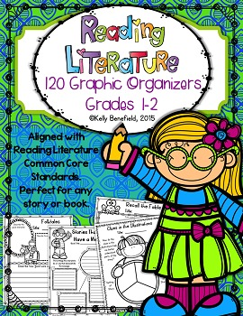 Graphic Organizers for Reading Literature Grades 1-2