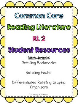 Common Core Reading Literature RL 2 Student Resources