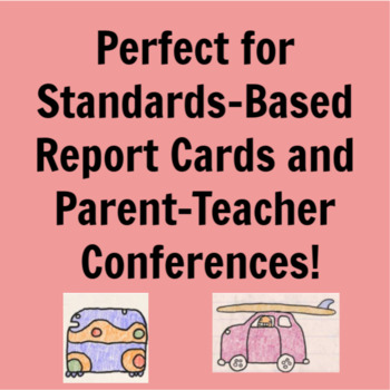 Common Core Reading Literature Standard Assessments for 1st Grade