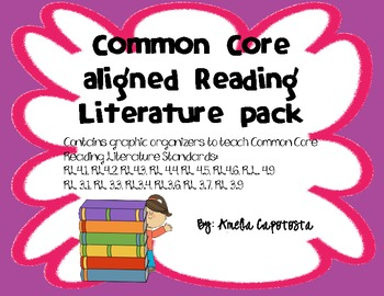 Common Core Reading Literature Standards Pack
