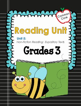 Common Core Reading Mini Lessons Nonfiction Reading: Expository Texts  Grade 3